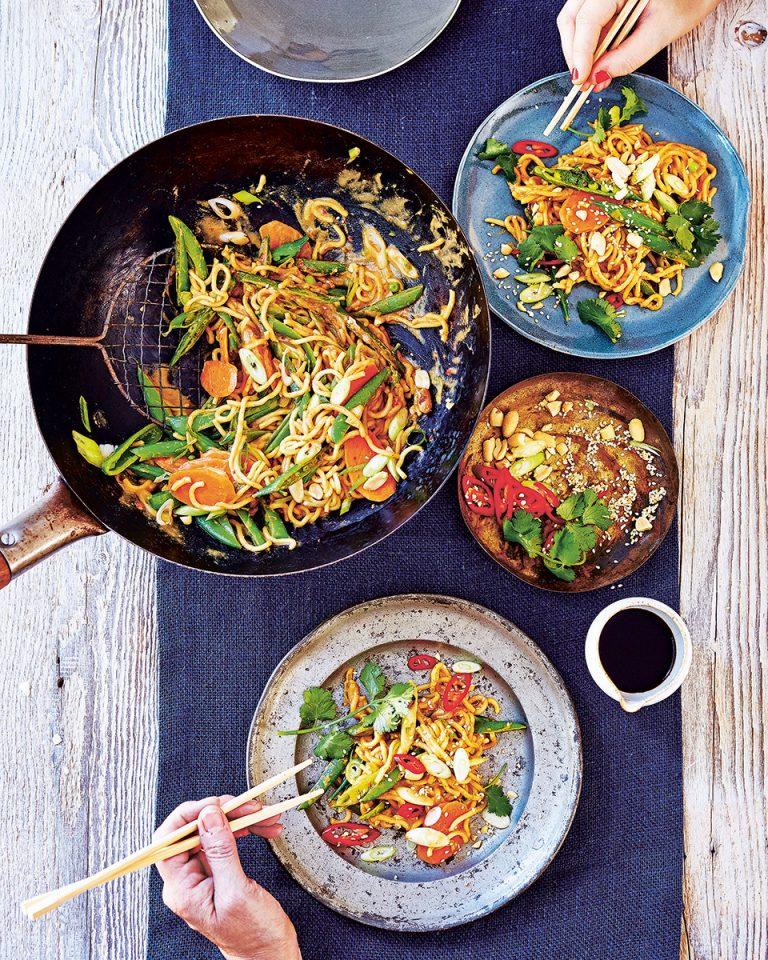 Satay noodles - delicious. magazine