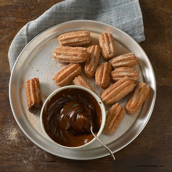 Mini-Churros-With-Salted-Chocolate-Dip