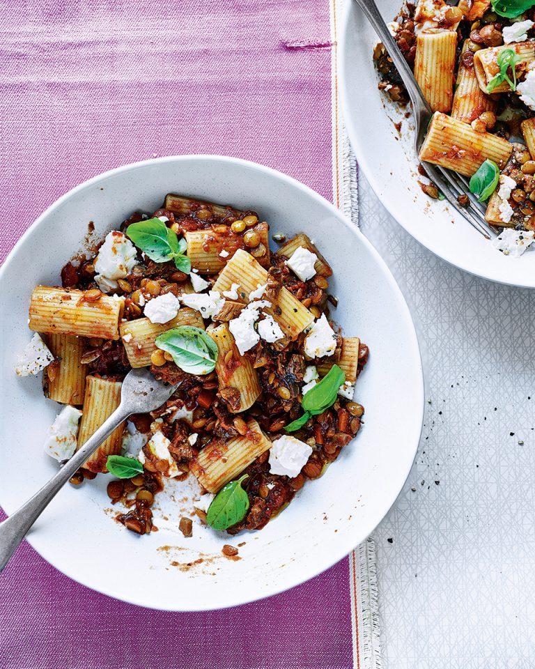 Mushroom, lentil and walnut ragù - delicious. magazine