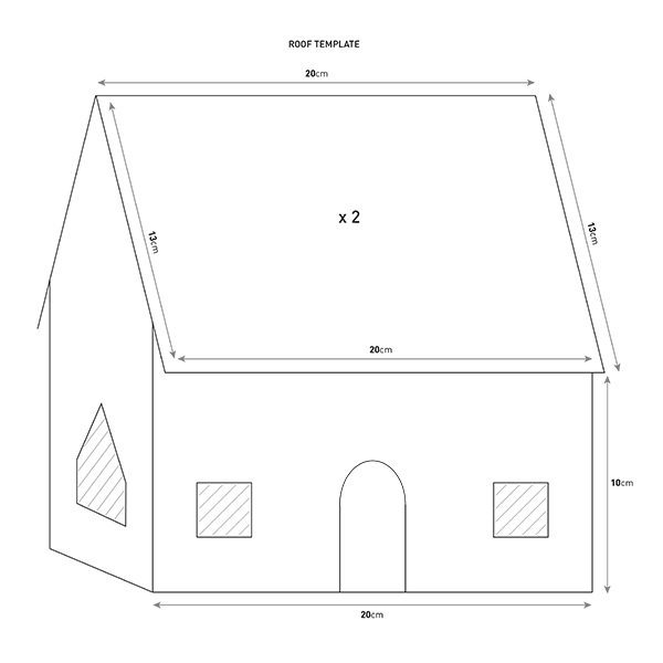picture relating to Printable Gingerbread House Pattern identify Gingerbread dwelling template scrumptious. journal