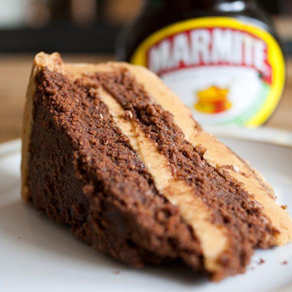 Marmite cake