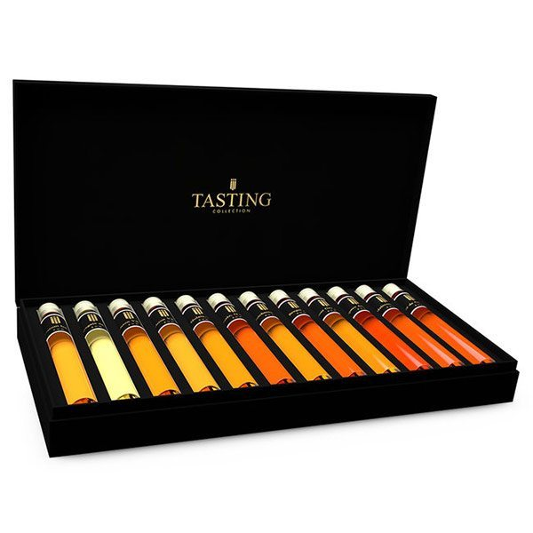 Rum tasting tubes