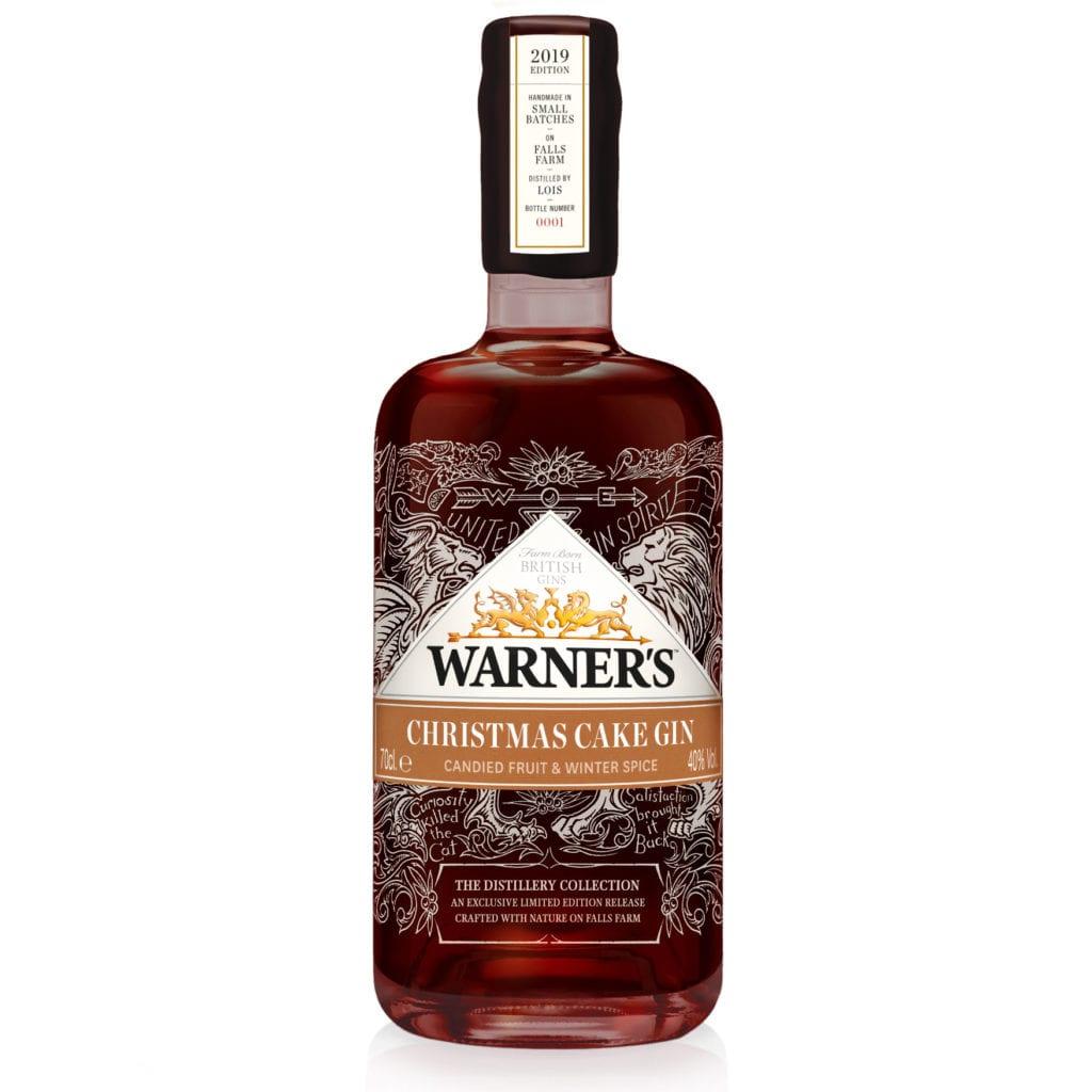 Warner Christmas cake gin