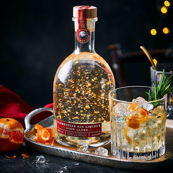 M&S Christmas gin