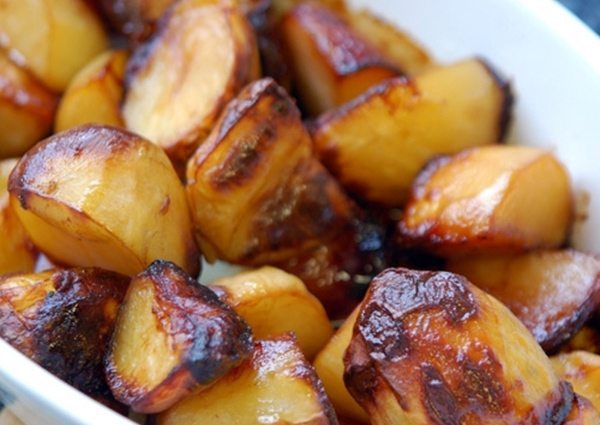 Marmite potatoes