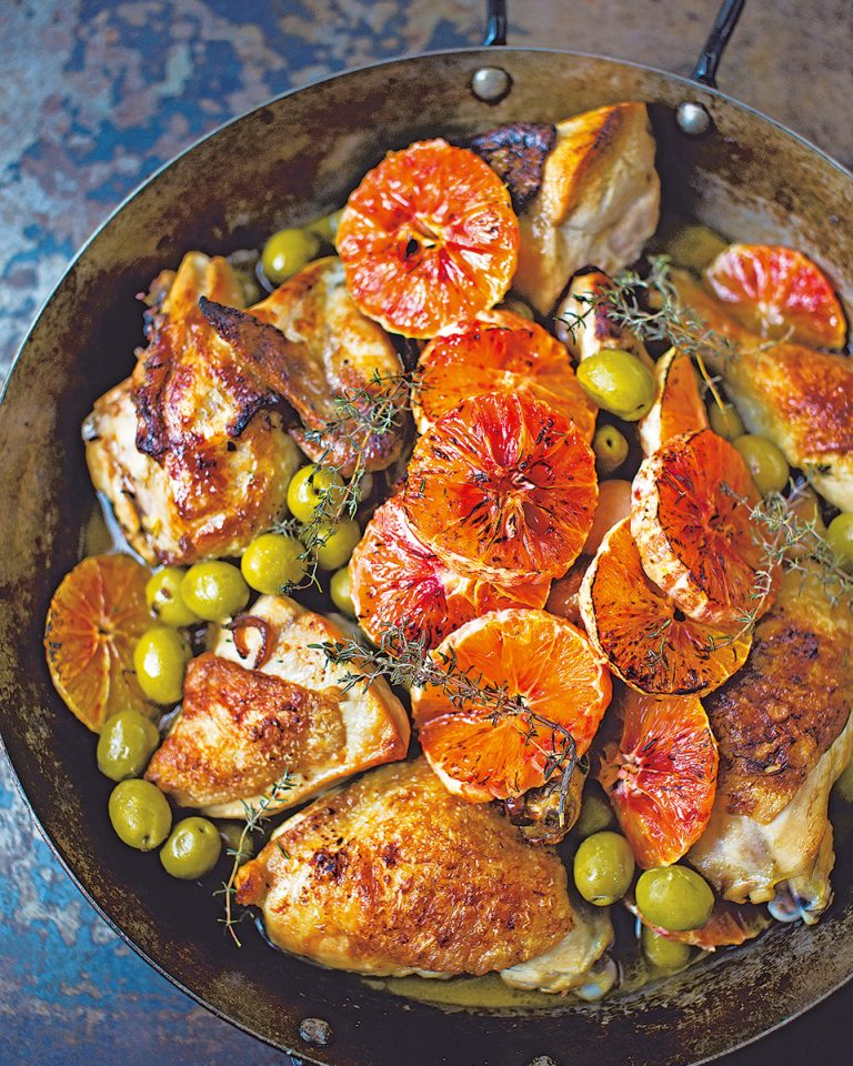 Recipes With Blood Oranges