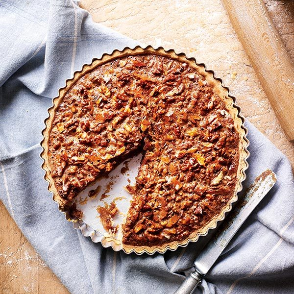 honey-and-walnut-tart