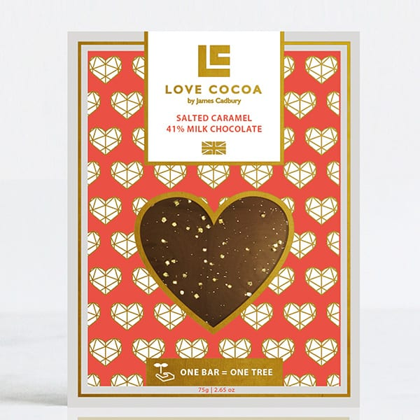 Gifts for valentine's day: Love Cocoa milk chocolate