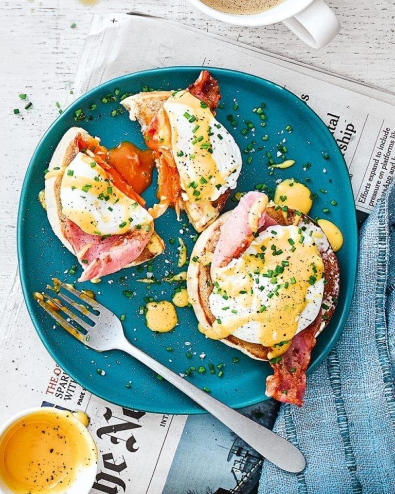 Eggs benedict – video