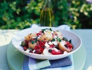 Country-style potato salad