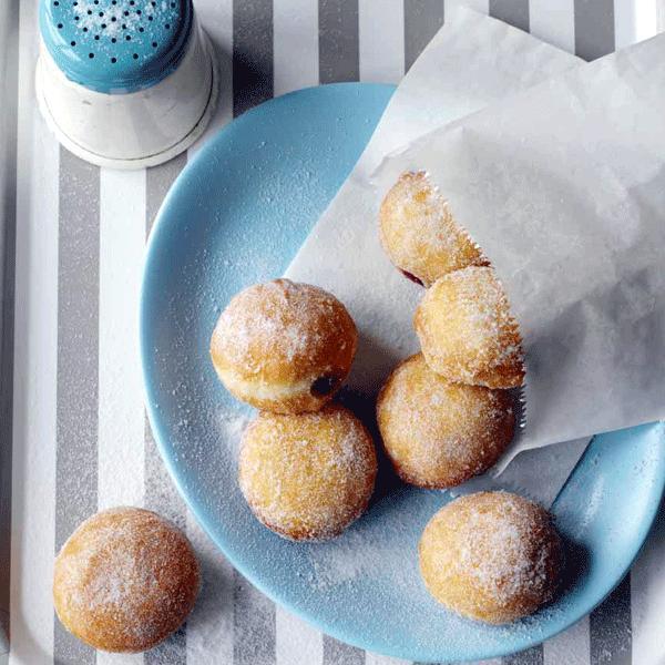Jammy doughnuts