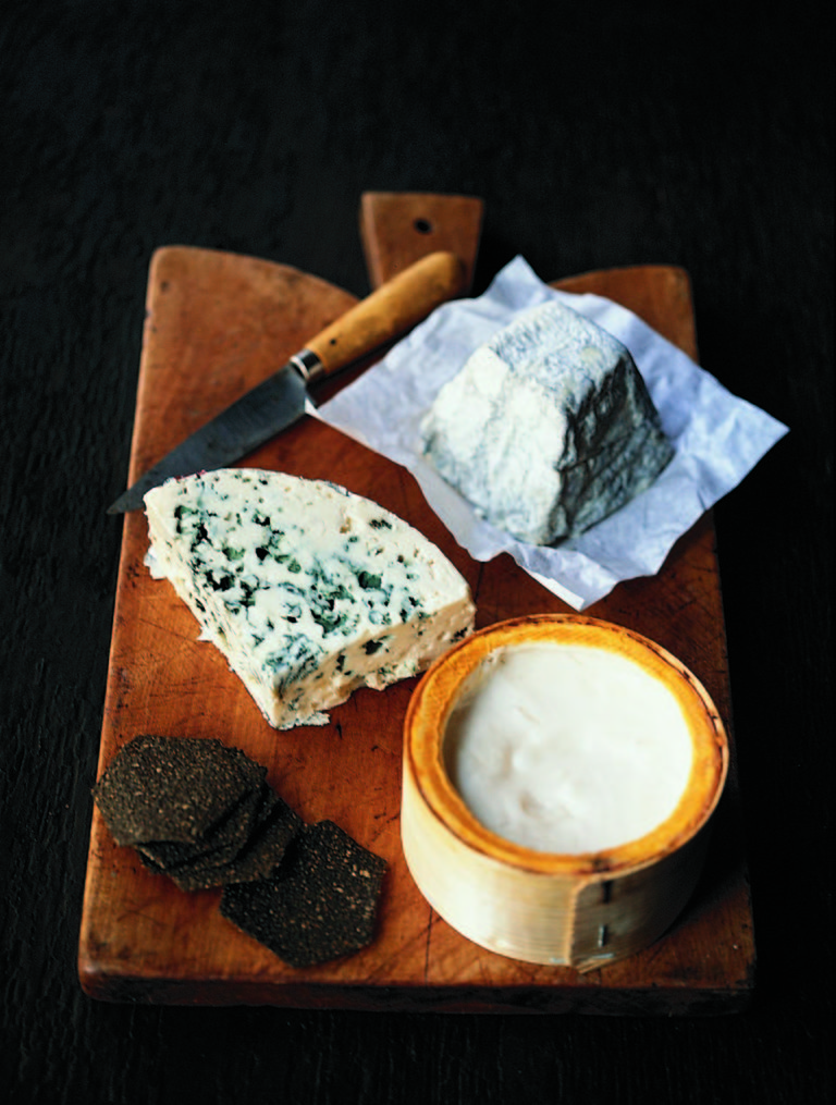 A French cheeseboard