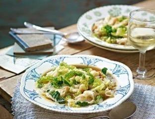 Antonio Carluccio's zuppa di cavolo Valpellinese