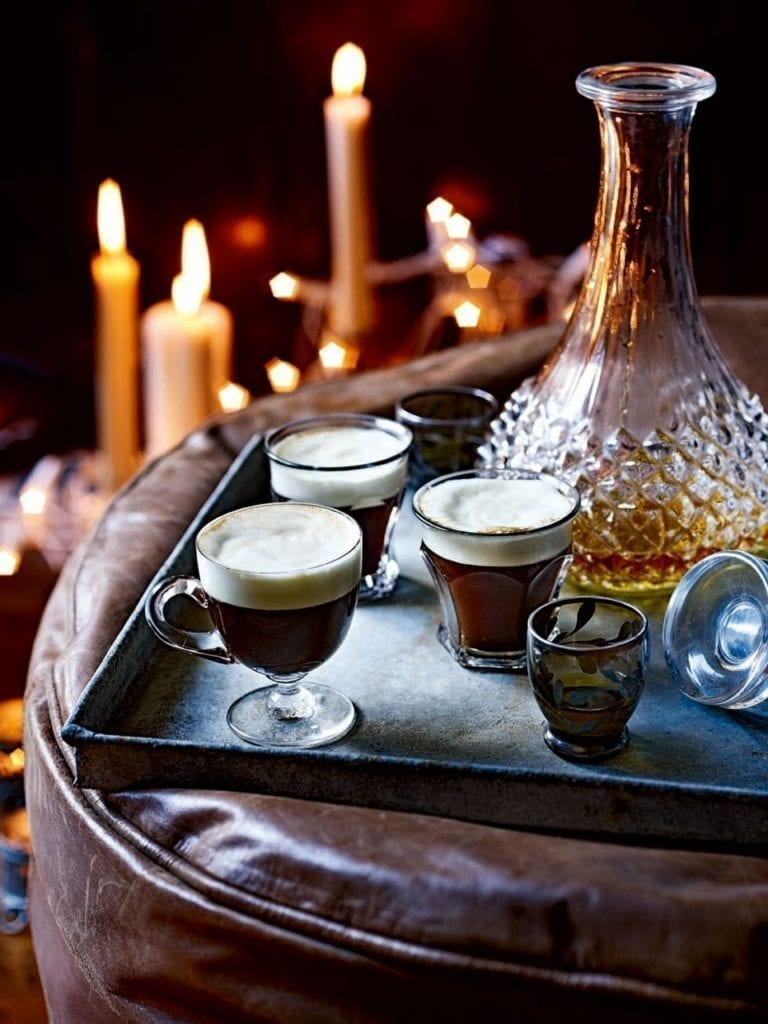 How to make liqueur coffees