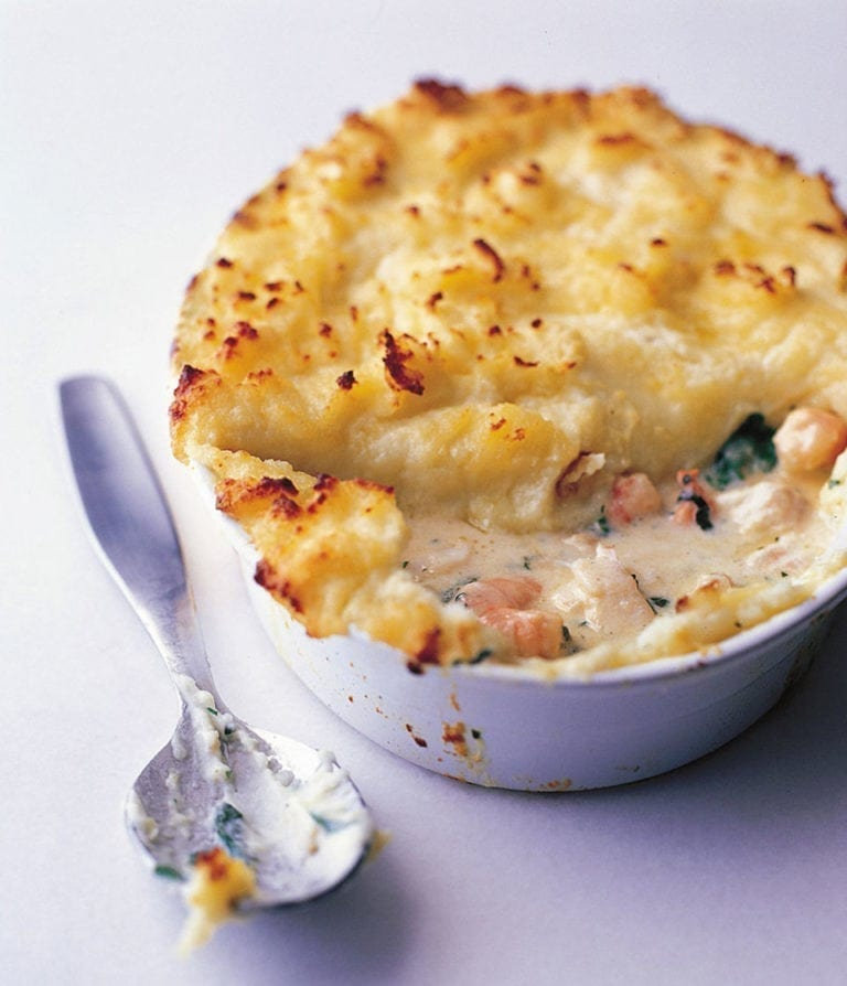 Easy fish pie
