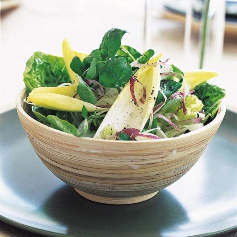 Chicory and watercress salad