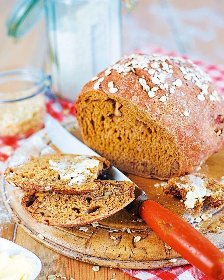 Treacle and walnut loaf
