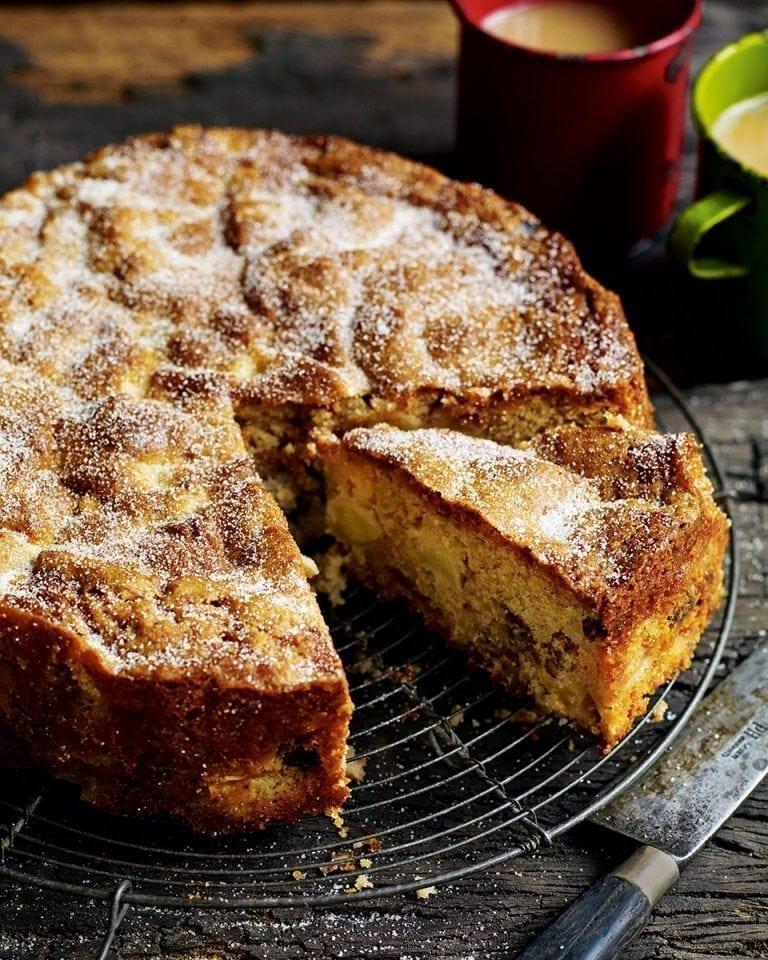 Chunky apple, raisin, walnut and cider cake | delicious. magazine