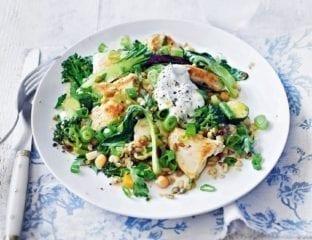 Quick chicken and green veg stir-fry
