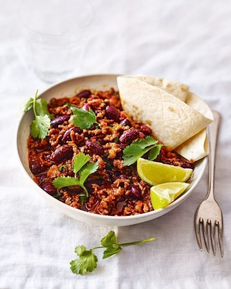 Quick chilli con carne