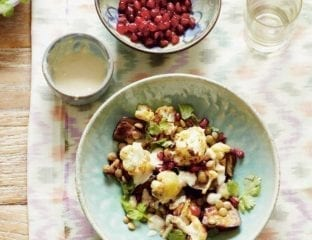 Middle Eastern-inspired salad