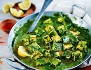 Chetna Makan's spinach and paneer curry