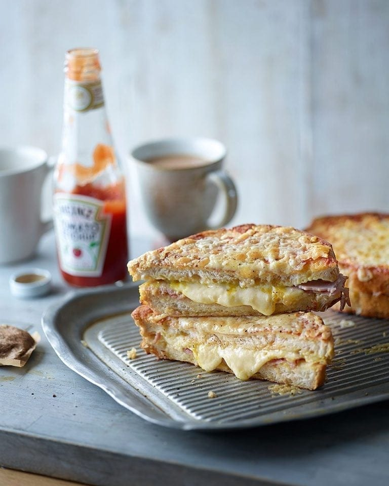 Eggy-bread grilled cheese sandwich | delicious. magazine