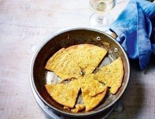 Socca (chickpea pancake)