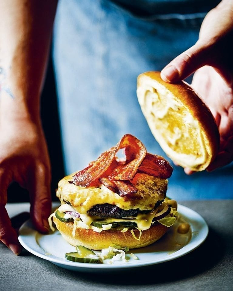 Run rarebit run burger