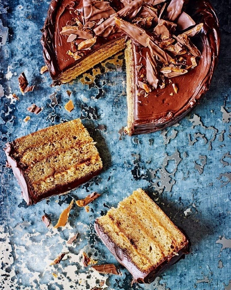 Daim bar layer cake