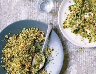 Broccoli and carrot tabbouleh