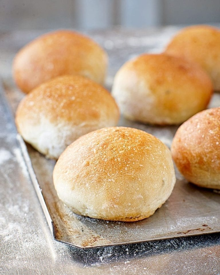 Fennel seed buns