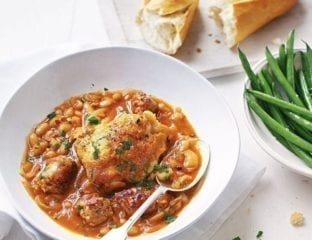 Easy chicken cassoulet with cannellini beans