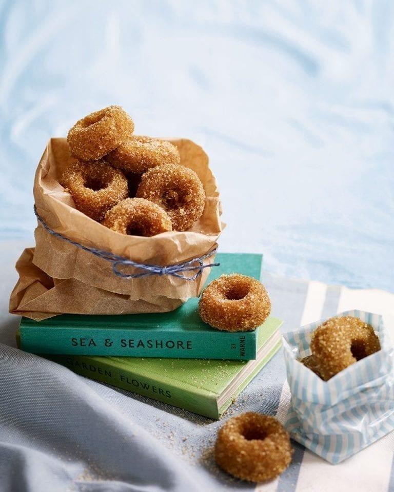 Ras el hanout doughnuts
