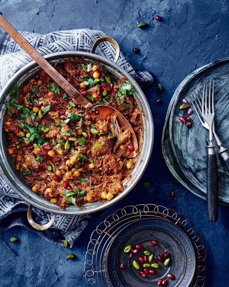 Moroccan lamb tagine – video