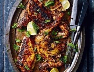 Peri-peri roast chicken