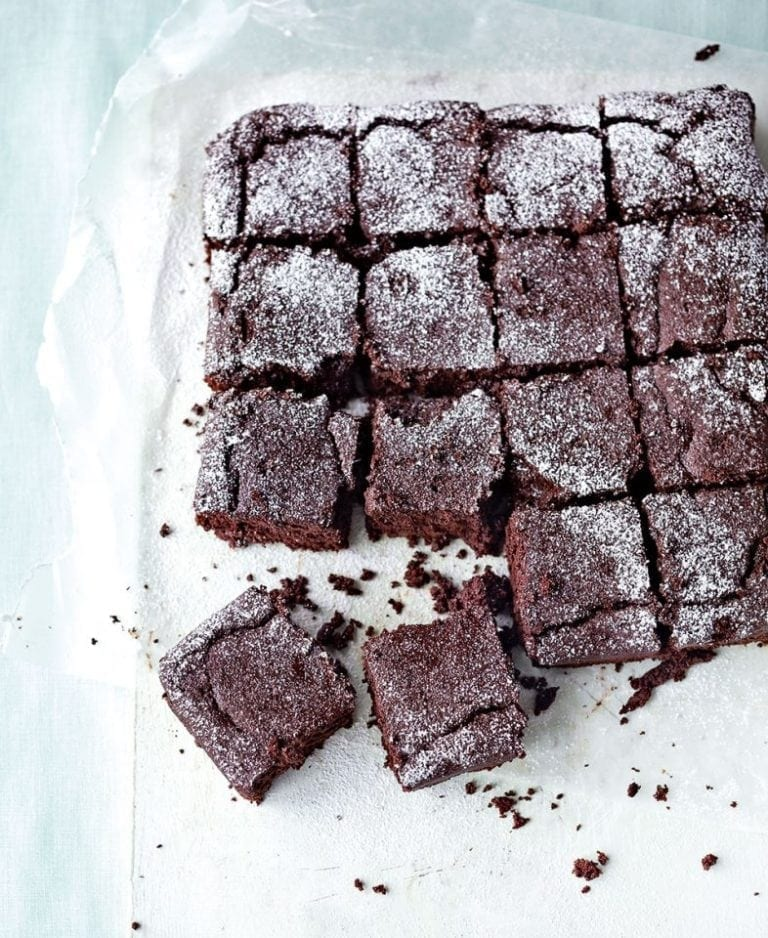 Healthier chocolate brownies