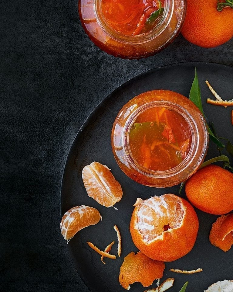 Clementine and bay marmalade