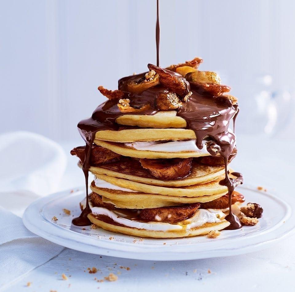 Pancake Banana Recipe Vegan