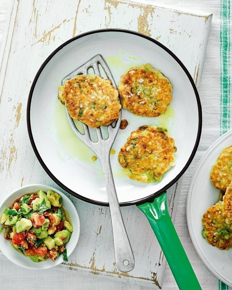 Sweetcorn fritters – video