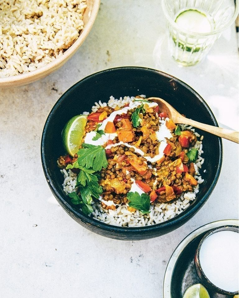 The loyal lentil curry
