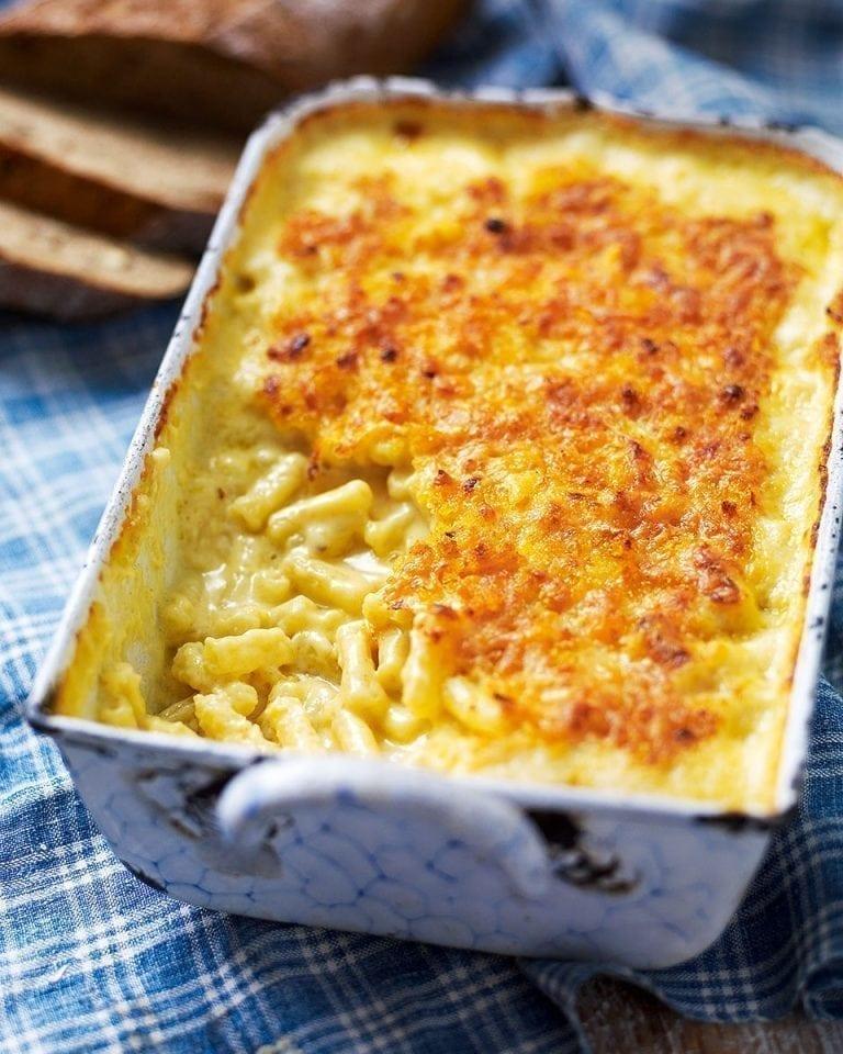 US-style mac 'n' cheese