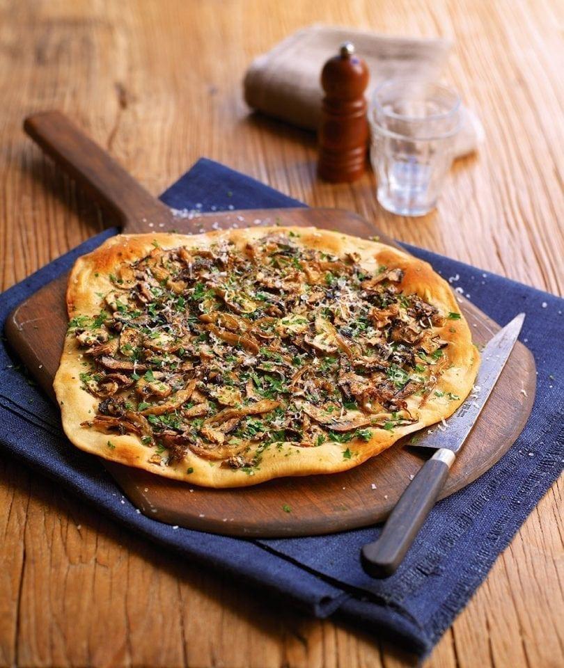 Truffle mushroom pizza   delicious. magazine