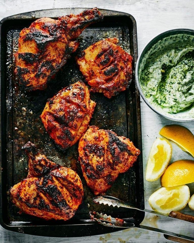 Tandoori-style chicken | delicious. magazine