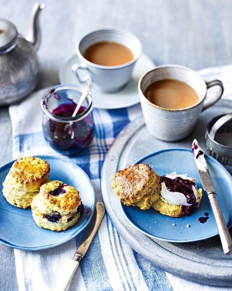 Blueberry scones   delicious. magazine
