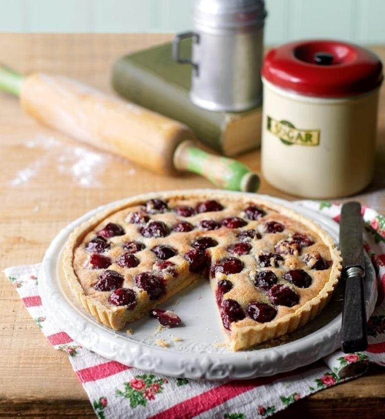 Cherry Ripe tart from Sussex