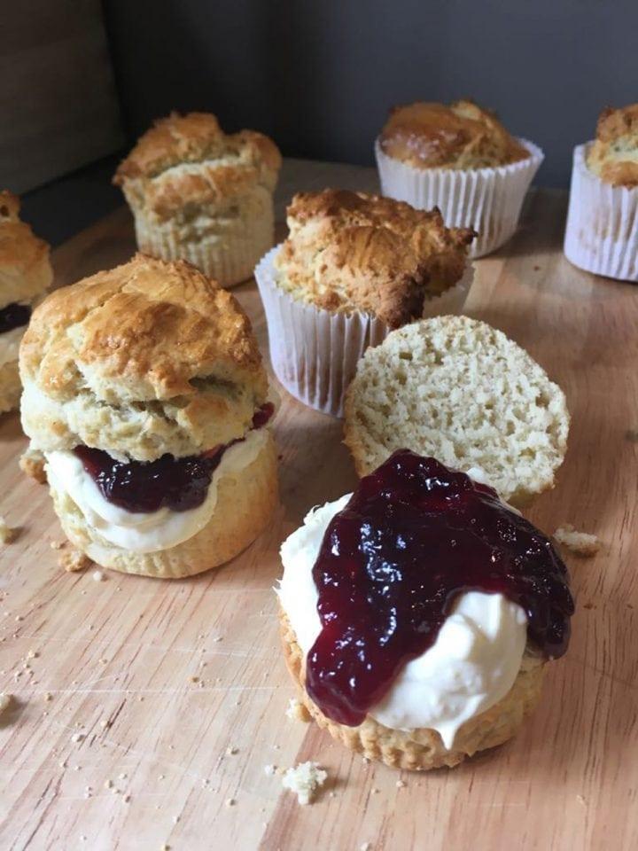Gluten-free scone muffins