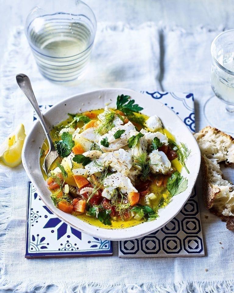 Kakavia (Cretan fisherman's soup)