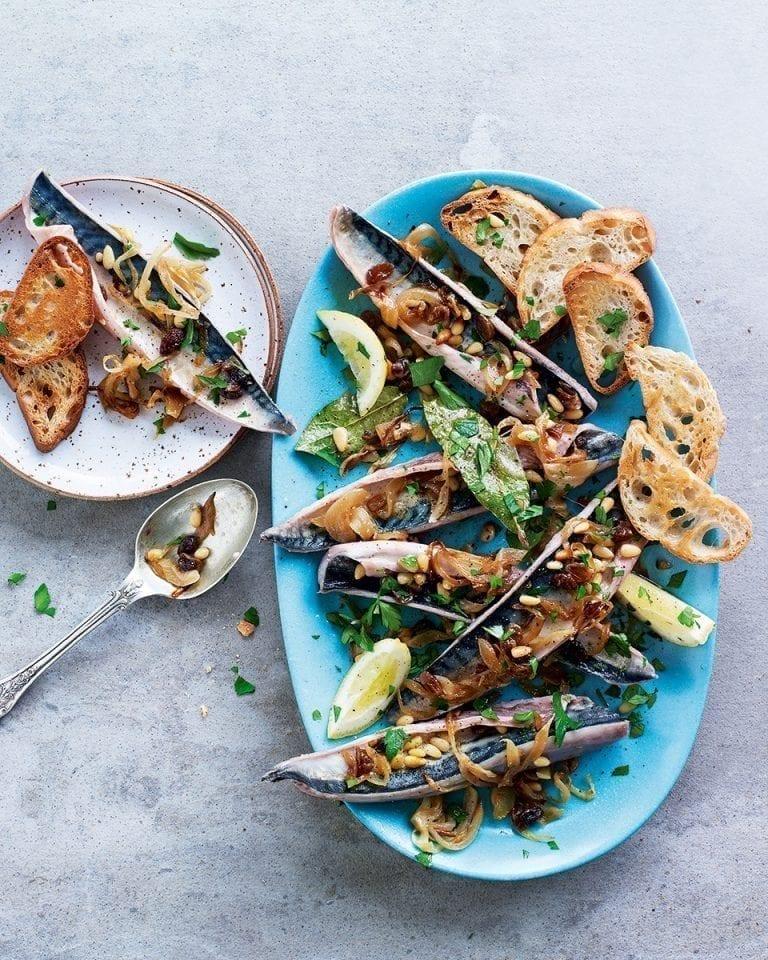 Sardines al saor