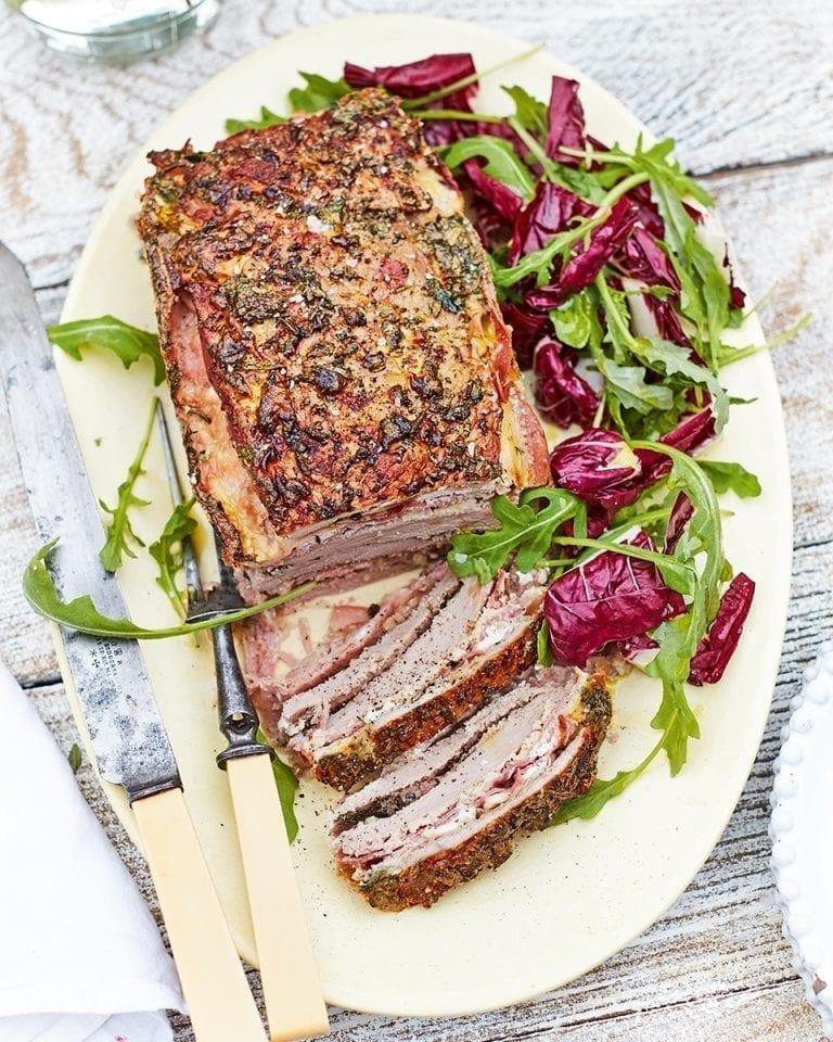 Veal rifreddo (meatloaf)